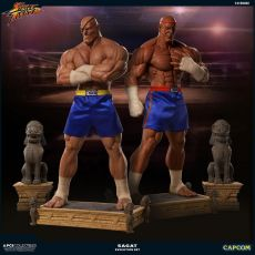 Street Fighter Sochy 1/3 Sagat PCS Exclusive Evolution Set 93 cm