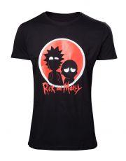 Rick & Morty Tričko Big Red Logo Velikost L