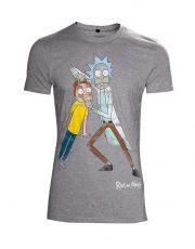 Rick & Morty Tričko Crazy Eyes Velikost M