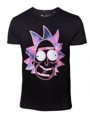 Rick & Morty Tričko Neon Rick  Velikost S