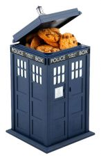 Doctor Who Cookie Dóza na sušenky with Sound & Light Up Tardis
