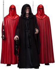 Star Wars PVC Soška 3-Pack 1/10 Emperor Palpatine & The Royal Guards 18 cm