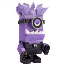Despicable Me Mega Construx Kubros Construction Set Evil Mimoň 14 cm