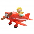 The Little Prince Figure The Little Prince in his plane 7 cm
