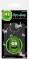 Rick and Morty Gumový Keychain Pickle Rick 6 cm