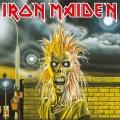 Iron Maiden Zarámovaný Canvas Print First Album 40 x 40 cm