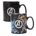 Marvel Comics Heat Měnící Hrnek Avengers