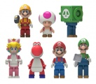 Super Mario Buildable K'NEX Figures 5 cm Wave 10 Display (24)