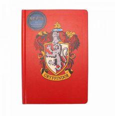 Harry Potter A5 Poznámkový Blok Nebelvír