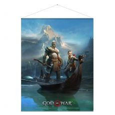 God of War Plátno Father and Son 100 x 77 cm
