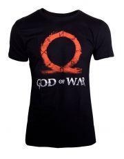 God Of War Tričko Ohm Sign a Rune Engraving  Velikost L