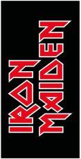 Iron Maiden Ručník Logo 150 x 75 cm