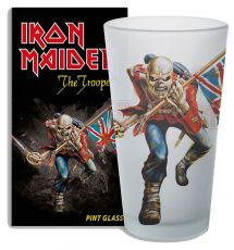 Iron Maiden Skleněná Pinta Glass The Trooper