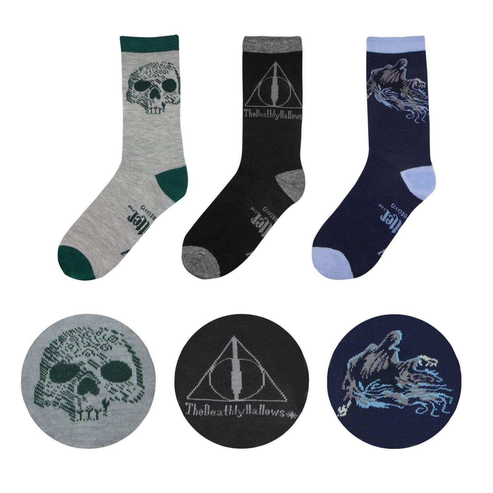 760938eac38 Harry Potter Ponožky 3-Pack Deathly Hallows Cinereplicas