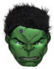 Marvel Comics LED Polštář Hulk 36 cm