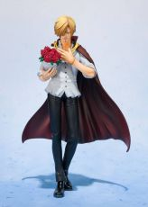 One Piece FiguartsZERO PVC Soška Sanji Whole Cake Island Ver. Tamashii Web Exclusive 17 cm