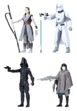 Star Wars Episode VIII Force Link Akční Figure 4-Pack 2018 Battle on Crait 10 cm