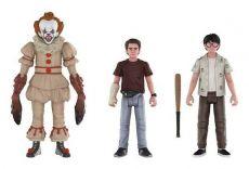 Stephen King's It 2017 Akční Figures 3-Pack Set 4: Pennywise, Richie, Eddie 10 cm