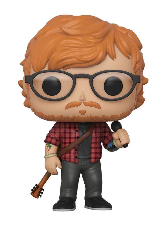 Ed Sheeran Pop Rocks Vinyl Figure Ed Sheeran 9 Cm Funko