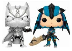 Marvel vs. Capcom Infinite POP! Games vinylová Figure 2-Pack Black Panther vs. Monster Hunter 9 cm