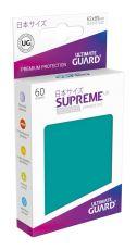 Ultimate Guard Supreme UX Sleeves Japanese Velikost Petrol Blue (60)