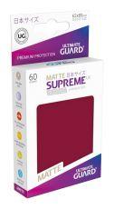 Ultimate Guard Supreme UX Sleeves Japanese Velikost Matte Burgundy (60)