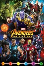 Avengers Infinity War Plakát Pack Characters 61 x 91 cm (5)
