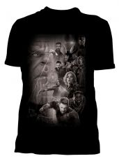 Avengers Infinity War Tričko Group Velikost L