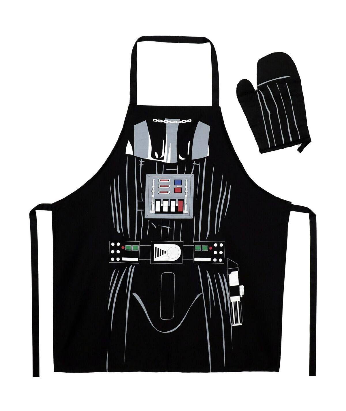 Star Wars Cooking Zástěra With Oven Mitt Darth Vader SD Toys
