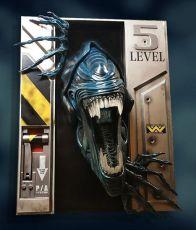 Aliens Životní Velikost Nástěnná Skulptura Alien Queen 94 x 81 x 51 cm