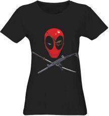 Deadpool Dámské Tričko Head Velikost S