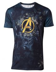 Avengers Infinity War Sublimation Tričko All Over Team  Velikost M