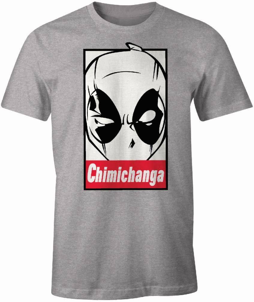 2b10e350ba76 Deadpool Tričko Chimichanga Velikost XL Cotton Division