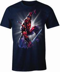 Deadpool Tričko Ninja Velikost M
