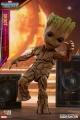 Guardians of the Galaxy Vol. 2 Životní Velikost Masterpiece Akční Figurka Groot Slim Verze 26 cm