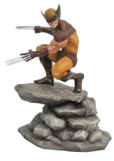 Marvel Gallery PVC Soška Brown Wolverine 23 cm