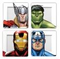 Marvel Talíře 4-Pack Avengers Faces