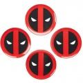 Marvel Talíře 4-Pack Deadpool Icon