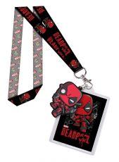 Marvel POP! Klíčenka with Gumový Keychain Deadpool & Backer Card