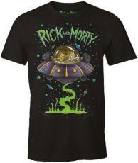 Rick and Morty Tričko Space Cruiser Velikost L