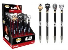 Star Wars Episode VII POP! Pens with Toppers Display Classic (16)