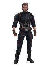 Avengers Infinity War Movie Masterpiece Akční Figure 1/6 Captain America 31 cm