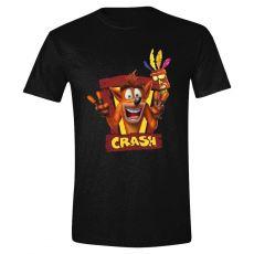 Crash Bandicoot Tričko Zarámovaný Velikost M