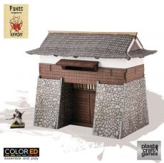 Kensei ColorED Miniature Gaming Model Kit 28 mm Castle Gate