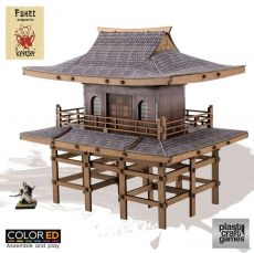 Kensei ColorED Miniature Gaming Model Kit 28 mm Sanmon Gate