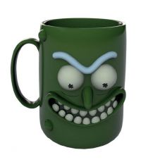 Rick and Morty 3D Hrnek Pickle Rick