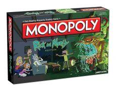 Rick and Morty Board Game Monopoly Anglická Verze