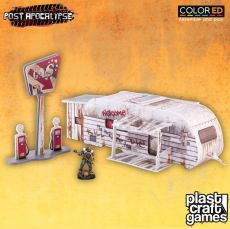 Post Apocalypse ColorED Miniature Gaming Model Kit 28 mm The Caravan