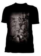 Avengers Infinity War Dámské Tričko Group Velikost XL