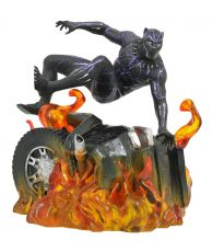 Black Panther Marvel Movie Gallery PVC Soška Black Panther Verze 2 23 cm